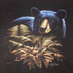 Vintage Canada Black Bear Shirt